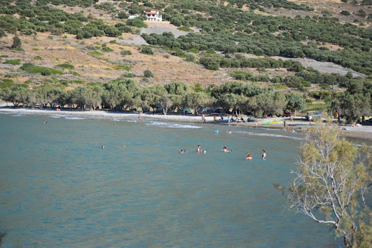 Tholos Beach Kavousi Greece