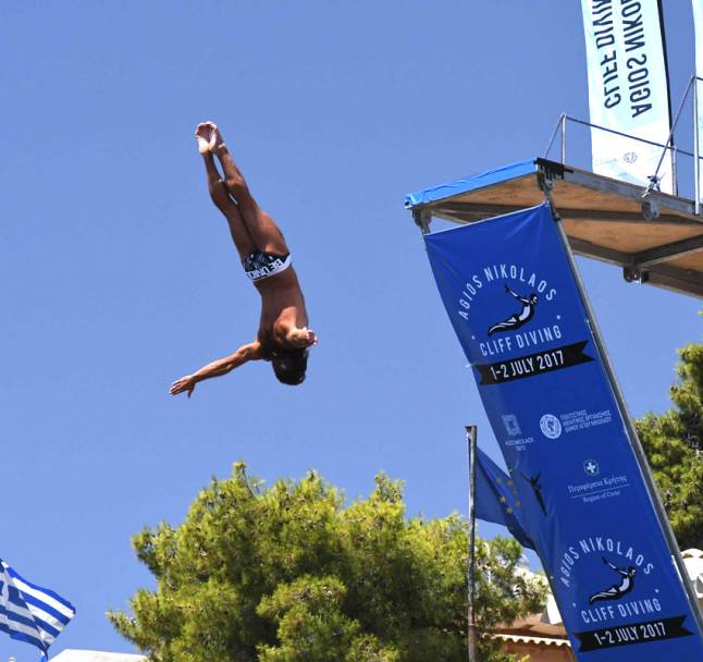 Agios Nikolaos Cliff Diving